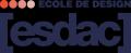 Logo de l'école de design ESDAC